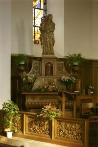 autel latéral gauche
